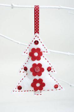 Felt Christmas Decorations Sewing Kit