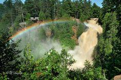 Chasin' Waterfalls: 6 of Wisconsin's Best Falls: 1. Big Manitou Falls 2. Copper Falls 3. Fonferek's Glen Falls 4. Long Slide Falls 5. Potato River Falls 6. Snake Pit Falls