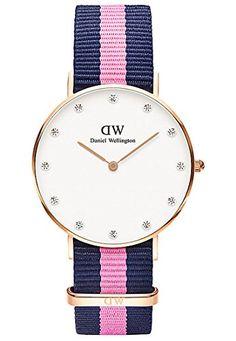 Daniel Wellington Damen-Armbanduhr Analog Quarz (One Size, weiß) - http://uhr.haus/daniel-wellington/daniel-wellington-damen-armbanduhr-analog-quarz