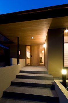 モダン和風邸宅 | 建築家住宅のデザイン 外観&内観集|高級注文住宅 HOP