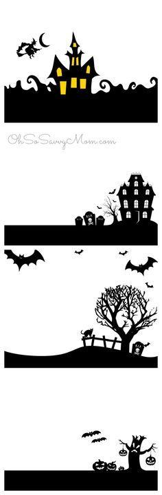 Imprimibles de Halloween                                                                                                                                                                                 Más