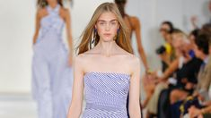 The complete Ralph Lauren Spring 2016 Ready-to-Wear fashion show now on Vogue Runway. Spring Fashion, Fashion Show, Spring 2016, Ready To Wear, Runway, Vogue, Ralph Lauren, Spring Style, Summer