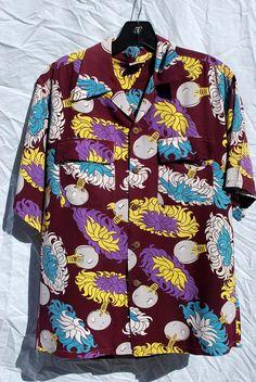 Vintage 40's Hawaiin shirt SURF N SAND atomic uli by thekaliman, $400.00