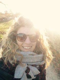 Baciata da un timido sole... Passeggiando sulle colline della magica #Valpolicella !