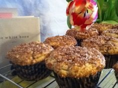 Coffee Cake Muffins - Bake This Day Our Daily Bread Sweet Recipes, Snack Recipes, Muffin Recipes, Snacks, Sourdough Recipes, Sourdough Bread, Sourdough Coffee Cake Recipe, Bread Recipes, Starter Recipes