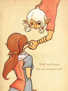 Karnella's Komali and Medli by LoZ-girl on deviantART