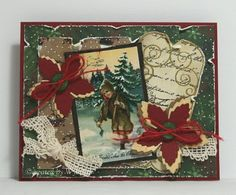 Cards made by Wybrich: christmas