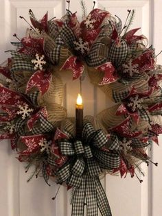 Unordinary Rustic Christmas Decorations And Wreaths Ideas. Rustic christmas style looks very sweet and cozy it s inviting and exactly what you need to relax after a Christmas Wreaths To Make, Noel Christmas, Holiday Wreaths, Rustic Christmas, Winter Wreaths, Elegant Christmas, Holiday Ideas, Christmas Ideas, Christmas Wreaths Diy Ornaments