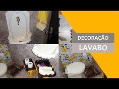 Dicas de Decoração para Lavabo com menos de R$60,00 /Por Carla Oliveira - YouTube