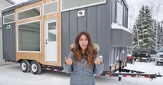 Alaskan couple Ana White and her husband build tiny homes together, but these aren't ordinary ones. Ana lives in a remote part of Alaska, where there are no big department stores like Target or local craft stores. That means she has to be extra resourceful and cost efficient when she is putting together these tiny...