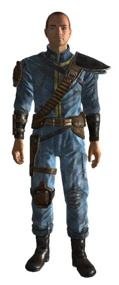 Fallout Armored Vault Suit Harness
