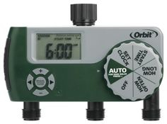 Best price on Garden Accessory Irrigation Timer Automatic Digital Eco Series 3 Port See details here: http://bestgardenreport.com/product/garden-accessory-irrigation-timer-automatic-digital-eco-series-3-port/ Truly the best deal for the reasonably priced Garden Accessory Irrigation Timer Automatic Digital Eco Series 3 Port! Take a look at this low cost item, read customers' opinions on Garden Accessory Irrigation Timer Automatic Digital Eco Series 3 Port, and get it online not thinking…