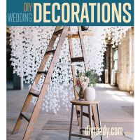 Weddings are super expensive, and definitely can create a hole in the pocketbook. Although your wedding day should reflect you and your fiancé's taste, you also need to maintain your tight budget. Many brides have turned to DIY techniques to combat extra costs. Here are some of our favorite DIY wedding decorations that