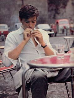 Alain Delon ~ Purple Noon, 1960