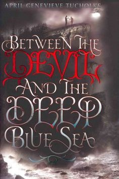 Between the Devil and the Deep Blue Sea by April Genevieve Tucholke - Violet is in love with River, a mysterious seventeen-year-old stranger renting the guest house behind the rotting seaside mansion where Violet lives, but when eerie, grim events begin to happen, Violet recalls her grandmother's frequent warnings about the devil and wonders if River is evil.