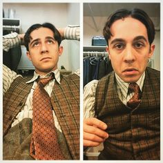 How I like to wear my costume .and how Hugo likes to wear his costume. Broadway Theatre, Musical Theatre, Theatre Nerds, Theater, Tuck Everlasting Musical, Newsies Costume, Jack Kelly, Drama Class, Im In Love