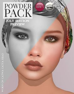 Powder Pack Catwa July Edition Preview | by Izzie Button (Izzie's)
