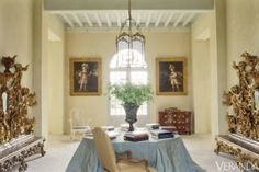 Château in Margaux Wine Country northwest of Bordeaux. <em>Image originally appeared in September 2010 issue of Veranda.</em><br /><br />INTERIOR DESIGN BY <strong>AXEL VERVOORDT</strong><br /><br />RENOVATION ARCHITECTURE BY<strong> CHRISTOPHE MASSIE</strong>