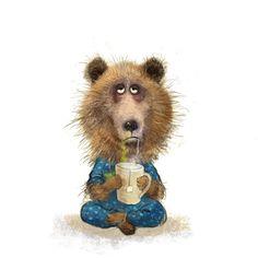no milk today. Wiebke Rauers illustration♥♥