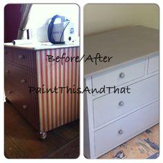 PaintThisAndThat #ASCP #refinished #refurbished #upcycle #paintedchest #luvtopaint #beforeandafter