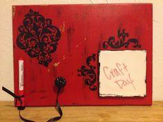 dry erase board...super cute