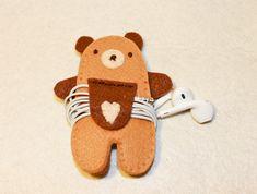 Piccoli pasticci: tutorial bear headphones holder
