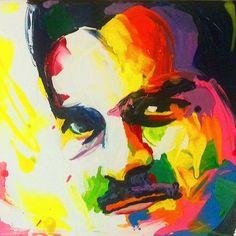 A legend that will always be remembered  the late Omar El Sherif... #omarelsherif #omarelsherief #art #artist #artwork #colorful #creative #painting #acrylicpainting #francoiseniellyart #francoisenielly #francoiseniellyinspired #portrait #portrait #art_empire #art_help #art_spotlight