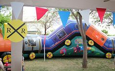 Train Birthday Party!