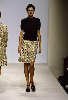 Prada Spring 1996 Ready-to-Wear Fashion Show - Stella Tennant