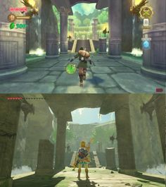 Skyward sword ↔️ Breath of the wild