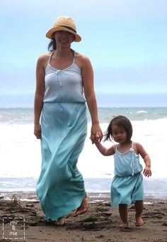 Braided Beach Maxi Dress by Cherie of You and Mie - Melly Sews
