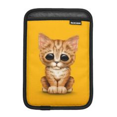 =>quality product          	Sad Cute Orange Tabby Kitten Cat on Yellow iPad Mini Sleeves           	Sad Cute Orange Tabby Kitten Cat on Yellow iPad Mini Sleeves in each seller & make purchase online for cheap. Choose the best price and best promotion as you thing Secure Checkout you can trust Bu...Cleck Hot Deals >>> http://www.zazzle.com/sad_cute_orange_tabby_kitten_cat_on_yellow_ipad_sleeve-205744620719426438?rf=238627982471231924&zbar=1&tc=terrest