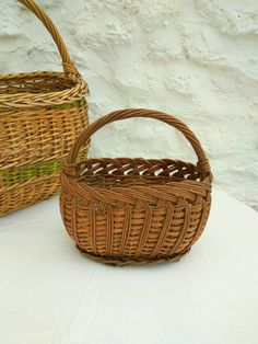 Vintage French child's shopping basket, mid century. by FrenchVintageMaison on Etsy https://www.etsy.com/listing/511213886/vintage-french-childs-shopping-basket