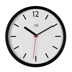 Wild & Wolf Wild Wood Jet Black Wall Clock