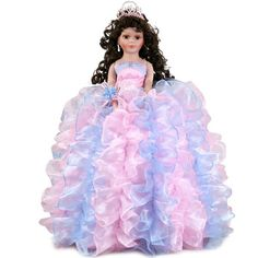 Quinceanera doll in your favorite color or theme Sweet 15, Barbie, Cinderella, Quinceanera Ideas, Culture, Disney Princess, Paper Dolls, Party, Red