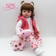 Dolls Npk Reborn Girl Dolls 23 57 Cm Black Girl So Truly Realistic Baby Doll Toy Full Silicone Body Waterproof Kids Playmates 50% OFF