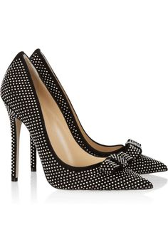 jimmy choo 'maya', a valentino-esque interpretation of their louboutin-esque 'anouk' pumps #shoeporn