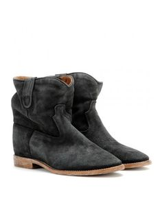 69168e3f76 Buy your grey suede ankle boots crisi boots ISABEL MARANT on Vestiaire  Collective, the luxury consignment store online. Second-hand Grey suede ankle  boots ...