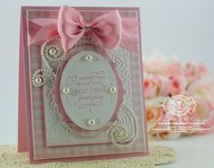 Quietfire Design - You Never Know How Strong You Are - Designed by Becca Feeken Spellbinders Cabbage Roses, Spellbinders Bird Cage Two, Spellbinders Classic Ovals LG, Spellbinders Labels Thirty Two, Spellbinders Gold Ovals One (closeup)