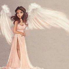 #instagram #angel #mujer #art #afiches #illustraciones