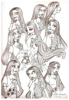 Sally Sketches by Redhead-K.deviantart.com on @deviantART