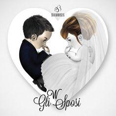 Un  tutto personalizzato #siamoises disegnato dallo staff per fare gli auguri alla nostra designer!   #matrimonio #wedding #marriage #sposa #sposo #moda