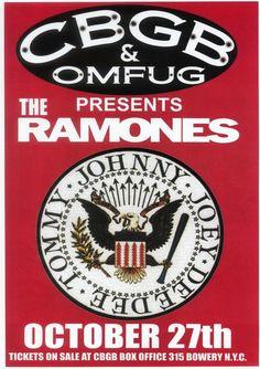 cbgb concert poster - Pesquisa Google