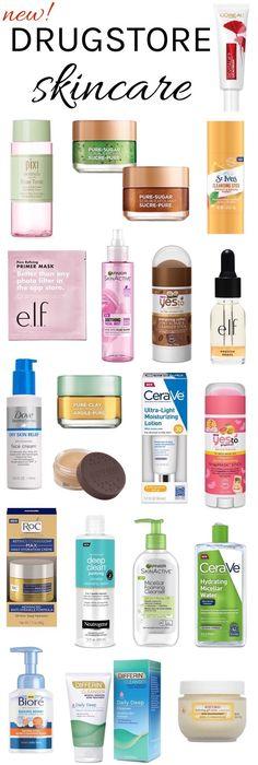 Finding yourself spent after the holidays? Save now with these NEW drugstore skincare products that you can snag for under $20 each! Makeup Dupes, Drugstore Beauty, Beauty Makeup, Best Skincare Products Drugstore, Hair Products, Best Drugstore Moisturizer, Skin Makeup, Beauty Skin, Best Makeup Products