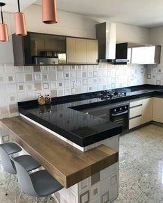 15 + Modern Kitchen Design Ideas Tips Kitchen Cupboard Designs, Kitchen Design Open, Interior Design Kitchen, Kitchen Modular, Modern Kitchen Cabinets, Küchen Design, Design Ideas, Cuisines Design, Home Decor Kitchen