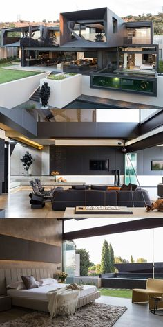 Mansions homes Dream house mansions Rich people lifestyle Mansions luxury Modern mansions House goals Loft apartment Modern house design Architecture house Dream house Modern homes Shipping container homes Dream Home Design, Modern House Design, Home Interior Design, Exterior Design, Modern Interior, Modern Glass House, Mansion Interior, Villa Design, Luxury Homes Interior
