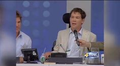 "Steve Gleason makes passionate call for help at United Nations - Former Saints player Steve Gleason has told the medical community, ""save my voice, my lungs and my thumbs, and I promise to change the world."" - http://www.PaulFDavis.com (info@PaulFDavis.com) for miracles, healing, health, disease prevention and peak performance"