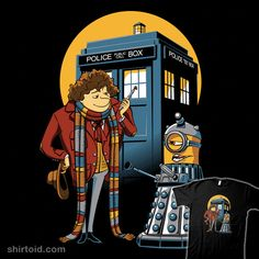 """""""Doctor Gru"""" by DJKopet.   A mashup of Despicable Me and Doctor Who."""