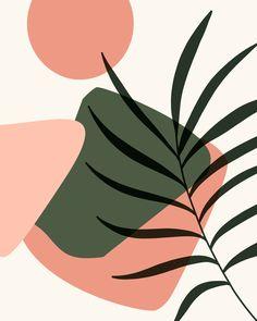 Prints & Patterns Tropical Abstract Art Print by ArtPrInk X-Small Abstract Art Abstract abstract art Art ArtPrInk patterns Print prints Tropical XSmall Painting Inspiration, Art Inspo, Posca Art, Art Moderne, Minimalist Art, Pattern Art, Art And Illustration, Line Art, Framed Art Prints