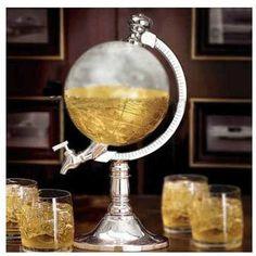 dispensador de cerveza bebidas modelo globo terraqueo h1171